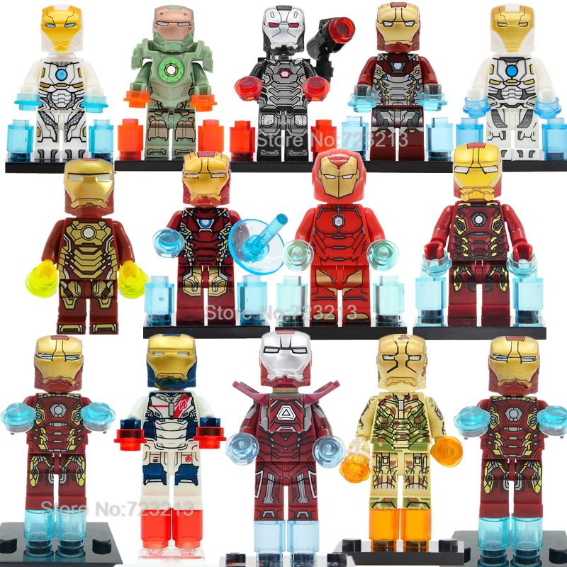 Toys & Hobbies Tmgt Single Sale Infinity Wars Avengers 3 Marvel Super Heroes Captain America Spiderman Building Blocks Friends Toys Legoinglys Superior Materials Model Building