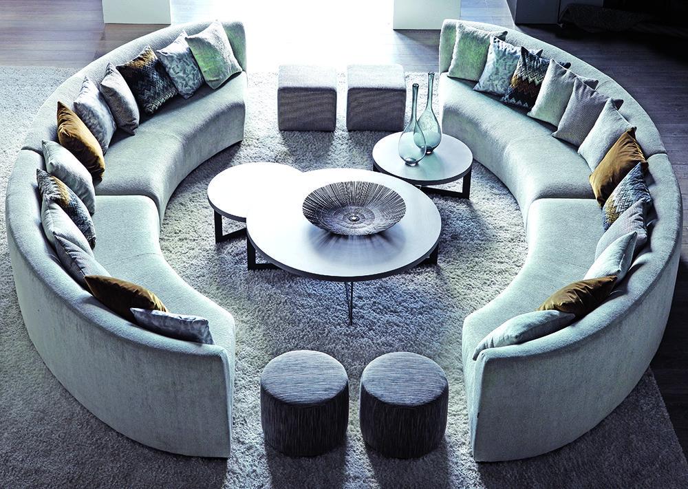 I Slots Decoration I Canape Rond Canape Arrondi Deco Interieur Salon
