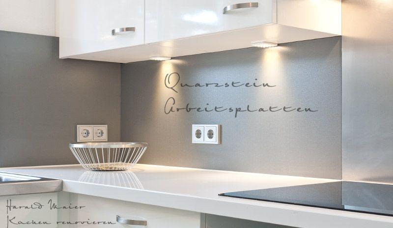 Ideen Zur Wandgestaltung Küche Wohnung Pinterest - küchenzeile hochglanz weiß