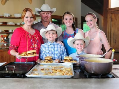 Pioneer Woman Ree Drummond The Family