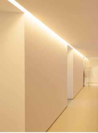 Ceiling Lighting Profile Recessed Led Borderline Delta
