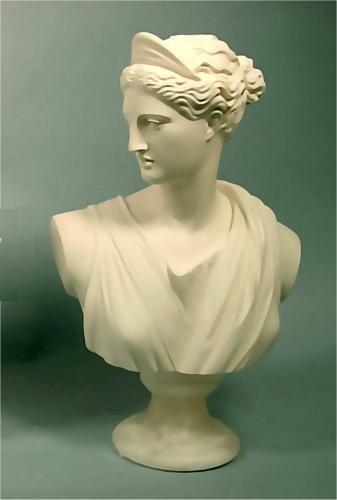 Diana Of The Hunt Goddess Bust Sculpture Bust Sculpture Sculpture Goddess Statue