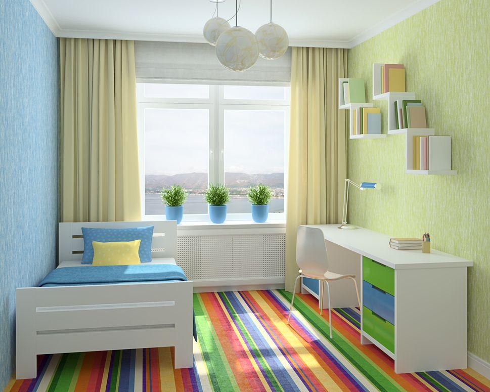 Tips para decorar habitaciones ecol gicas de ni os for Cuartos decorados para ninos