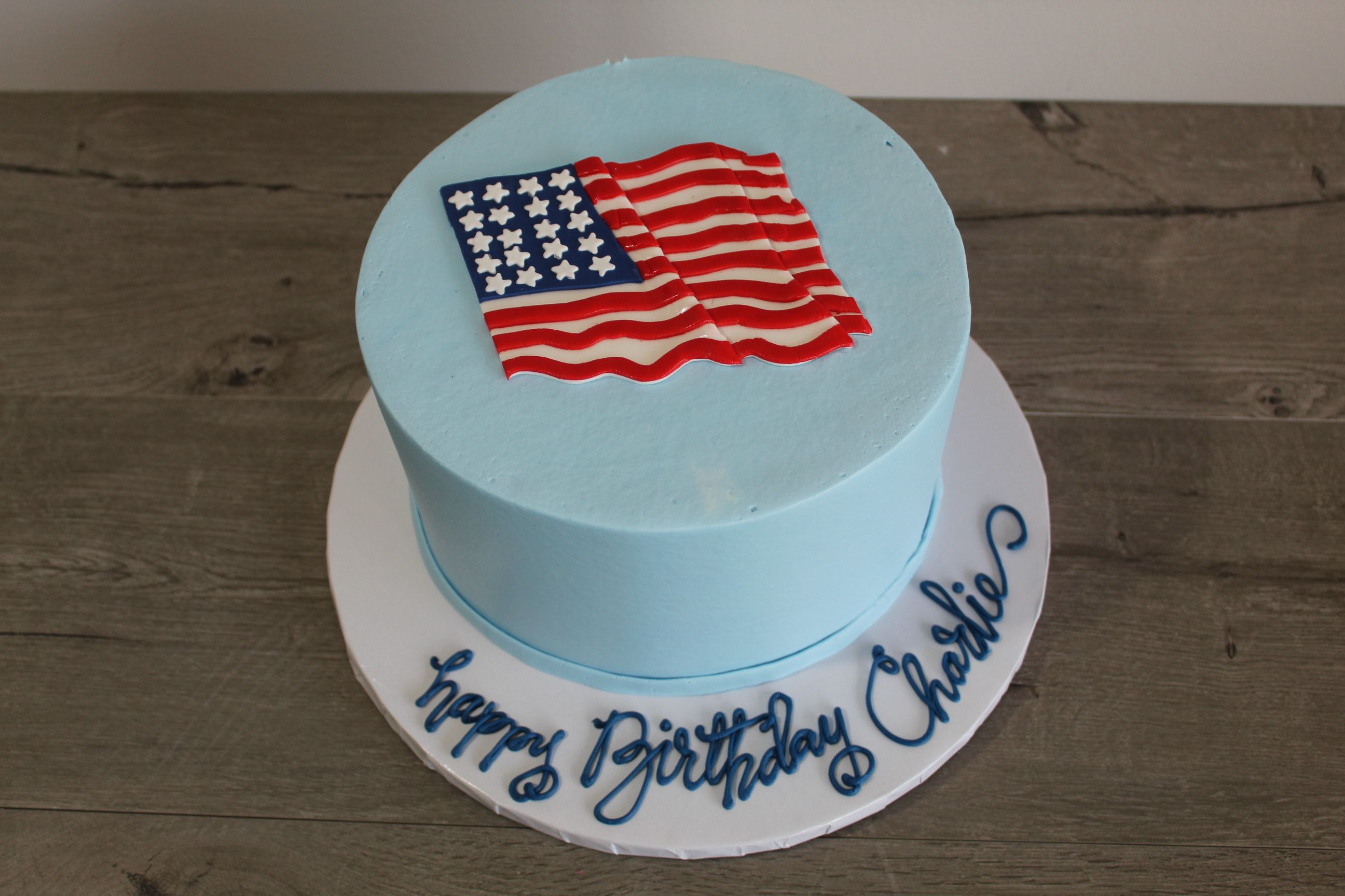 American Flag Cake With Images American Flag Cake Flag Cake Cake