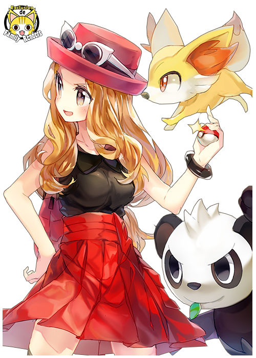 Imagen: Pokemon Serena and Fennekin - Serena (Pokemon XY