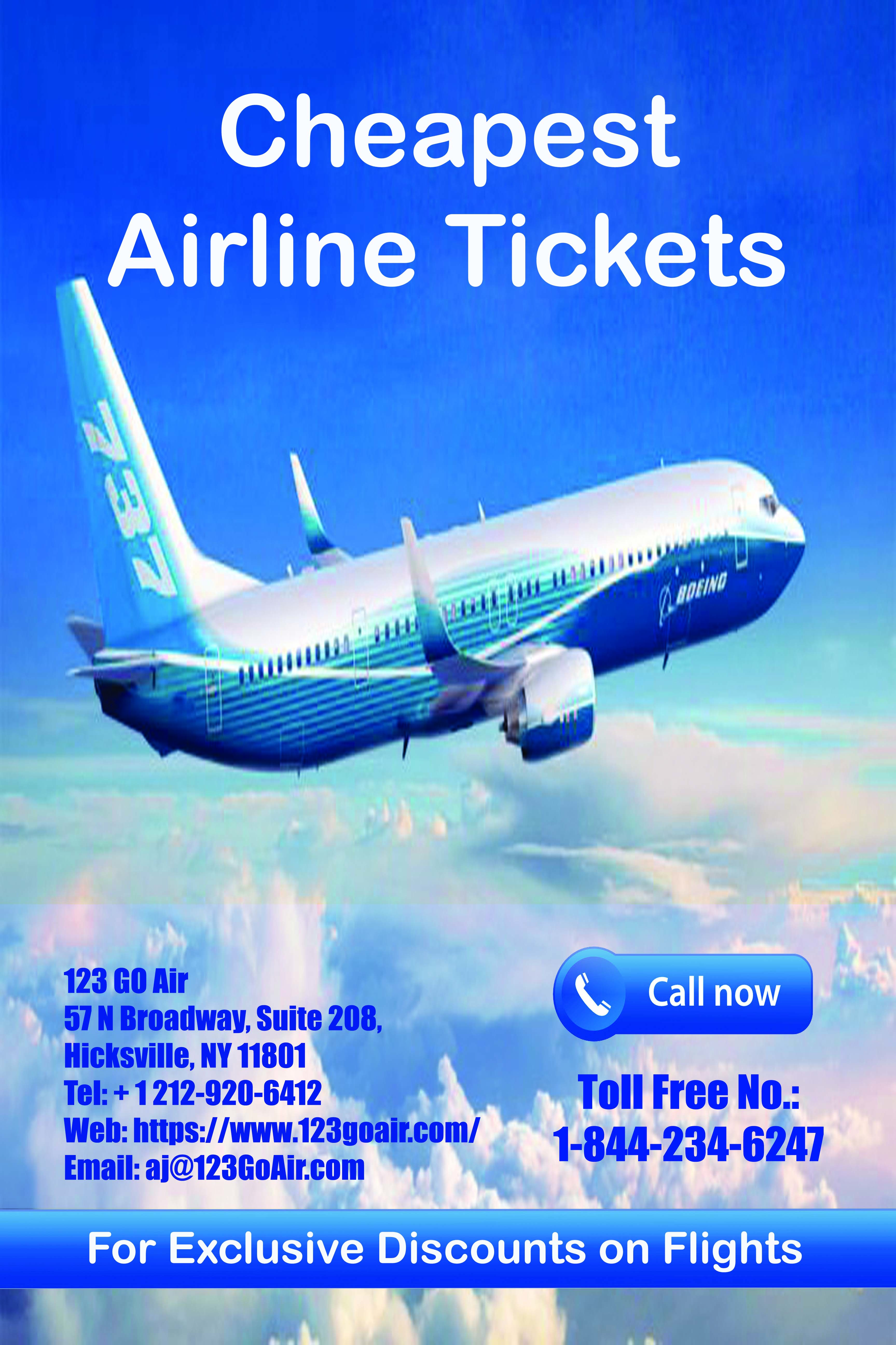 Exclusive Discount on Flights Call Now for Cheapest Air