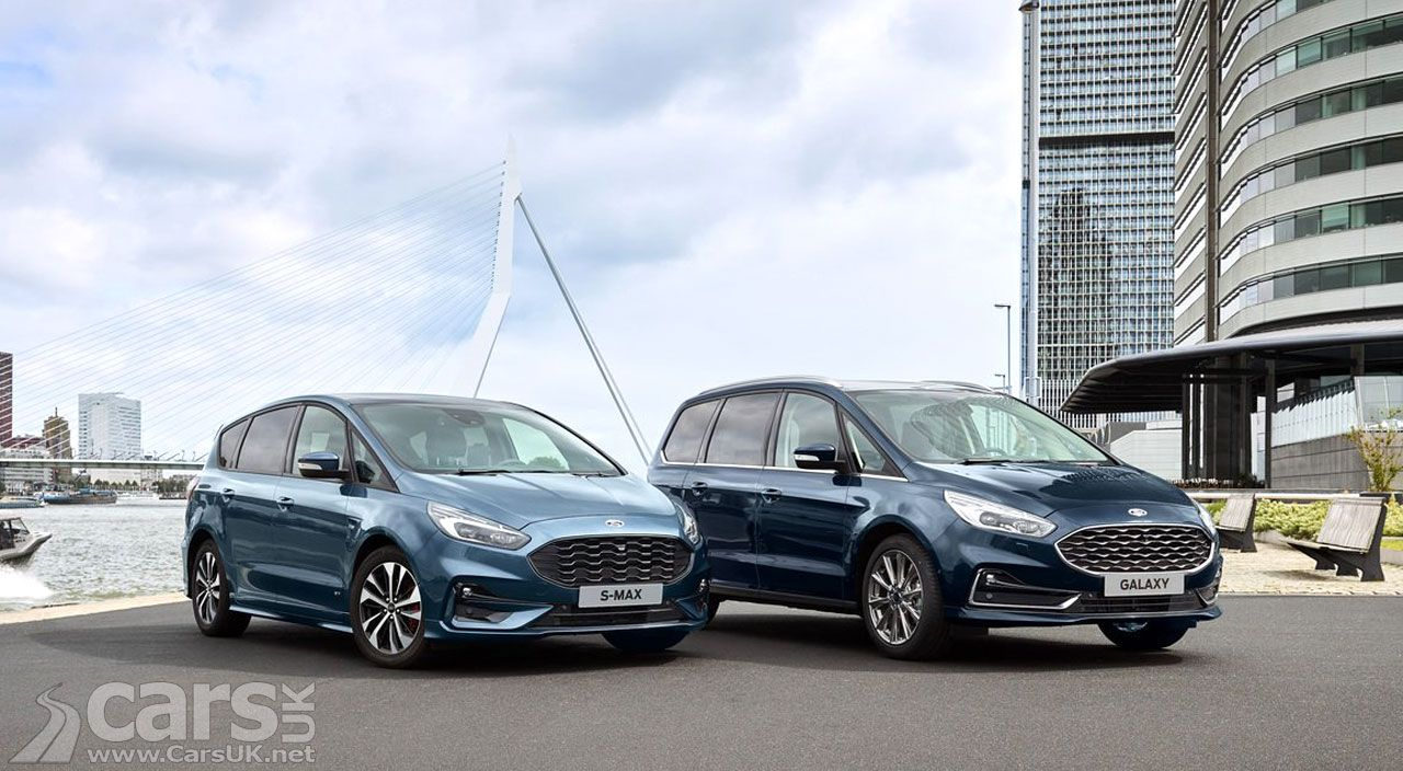 Ford Galaxy And S Max Get Another Mild Titivate Cars Uk Mini