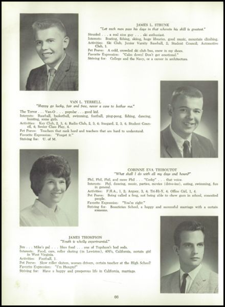 1964 Brunswick High School Yearbook Via Classmatescom Jims Year