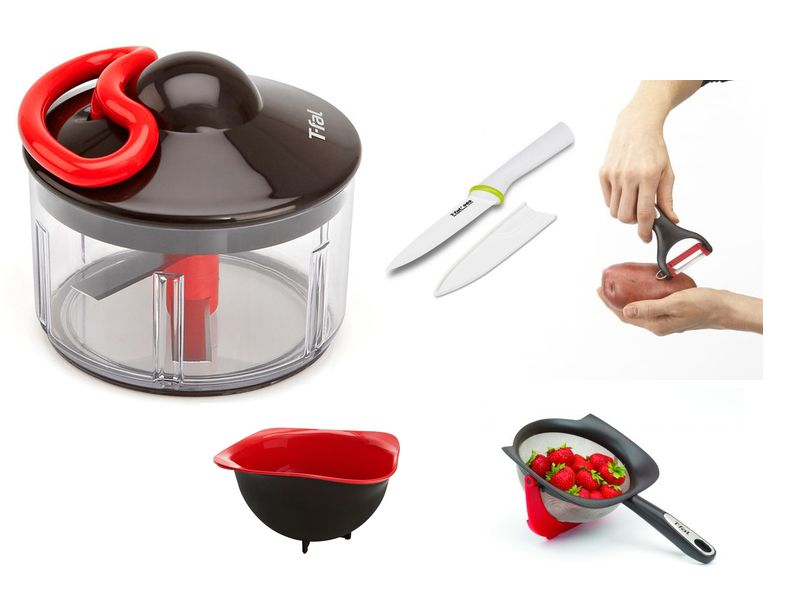Apply to host a T-Fal Stop, Drop, and Chop Party and those selected will receive a party pack with fun cooking tools, including the brand-new T-Fal Rapid Food Chopper!