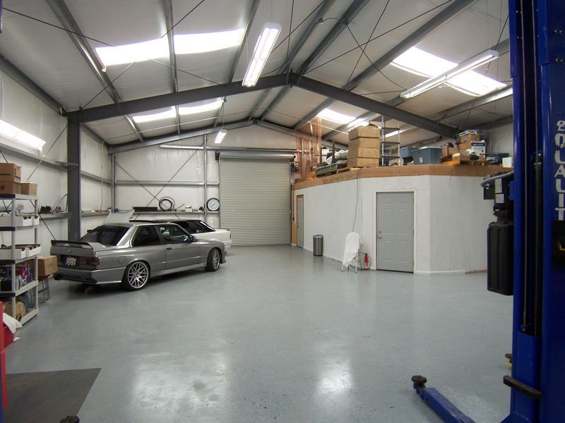 Plan shop garage steel building interior google search for Metal building interior ideas