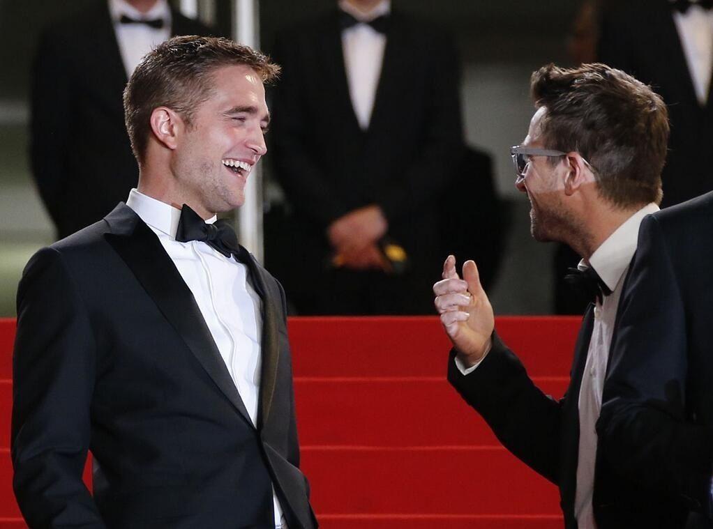 Love his laugh  The Rover premiere