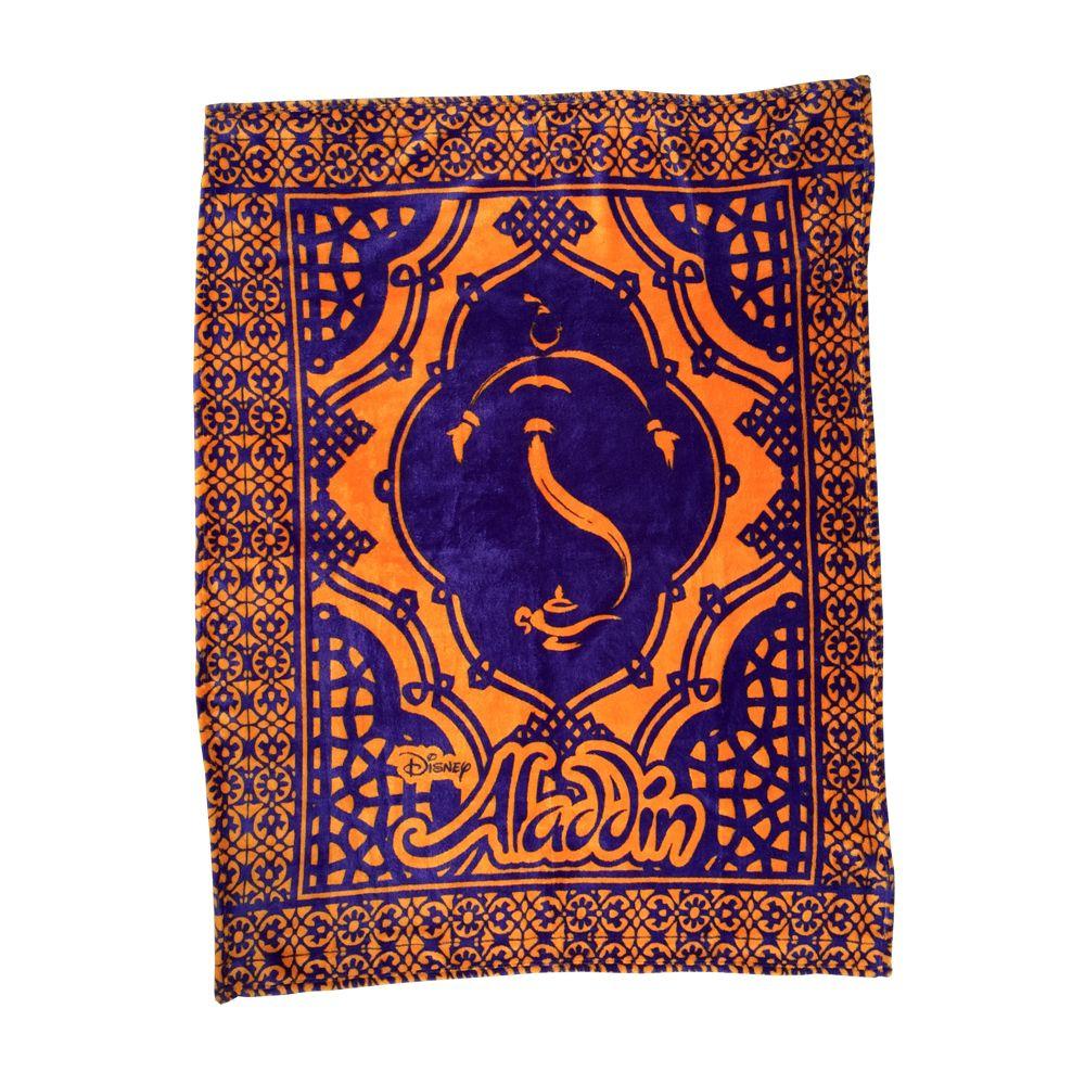 Aladdin the Broadway Musical Show Logo Fleece Throw