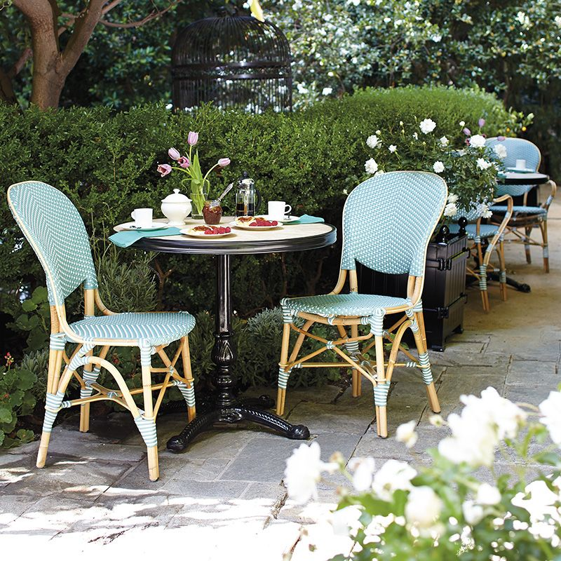 Paris Bistro Table, French Cafe Outdoor Furniture