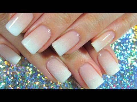 Perfect French Fade Natural Nail Imgirlyoudontknow Youtube Faded Nails Ombre Nails Tutorial French Fade Nails