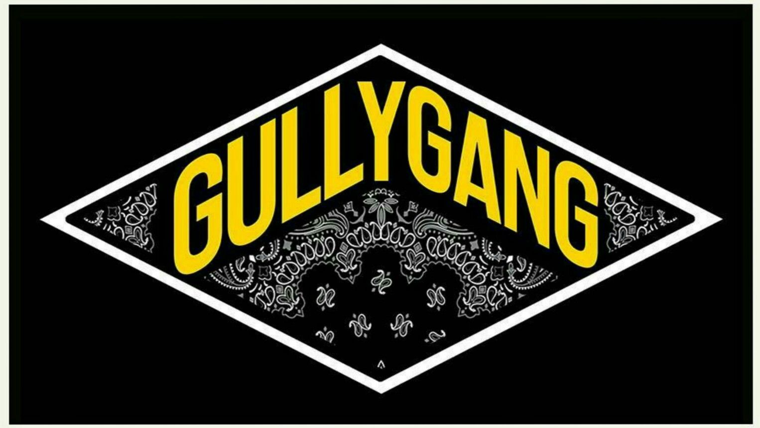 Official Logo Of Gully Gang By Divine Artistic Wallpaper