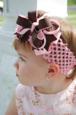 How To Make Your Own Baby Headbands With Large Flowers