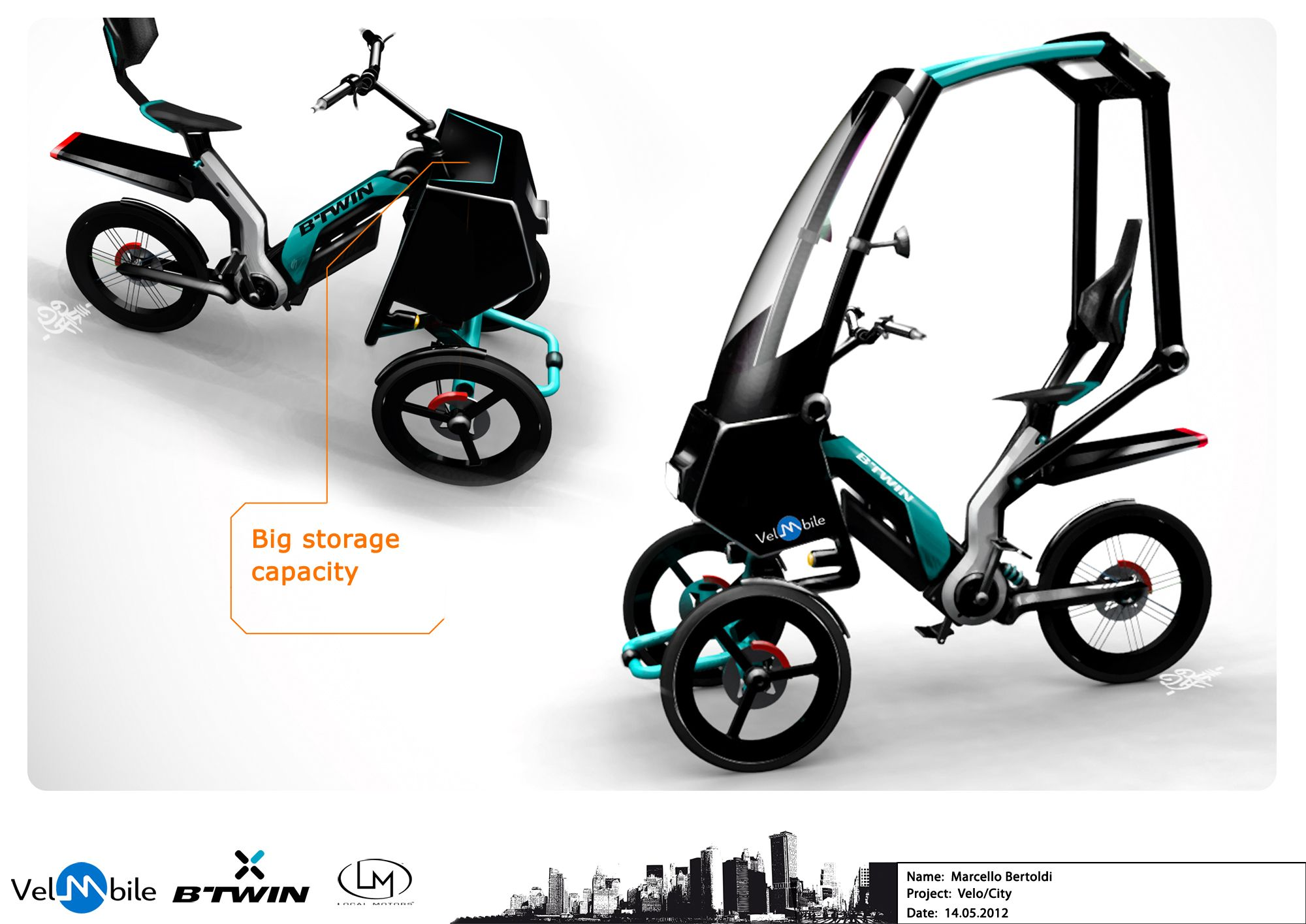 urbanvelo marcello betoldi tricycle pinterest v lo. Black Bedroom Furniture Sets. Home Design Ideas