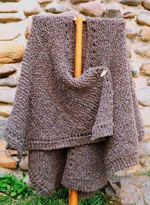Oat Couture - Knit Ruana