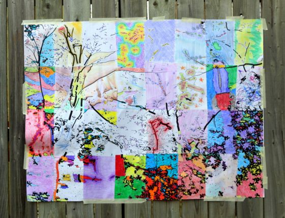 collaborative art projects for adults