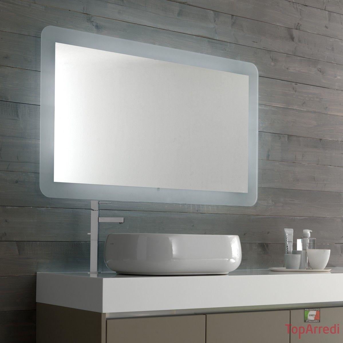 Specchi cornici moderna per bagno - Specchi particolari per bagno ...