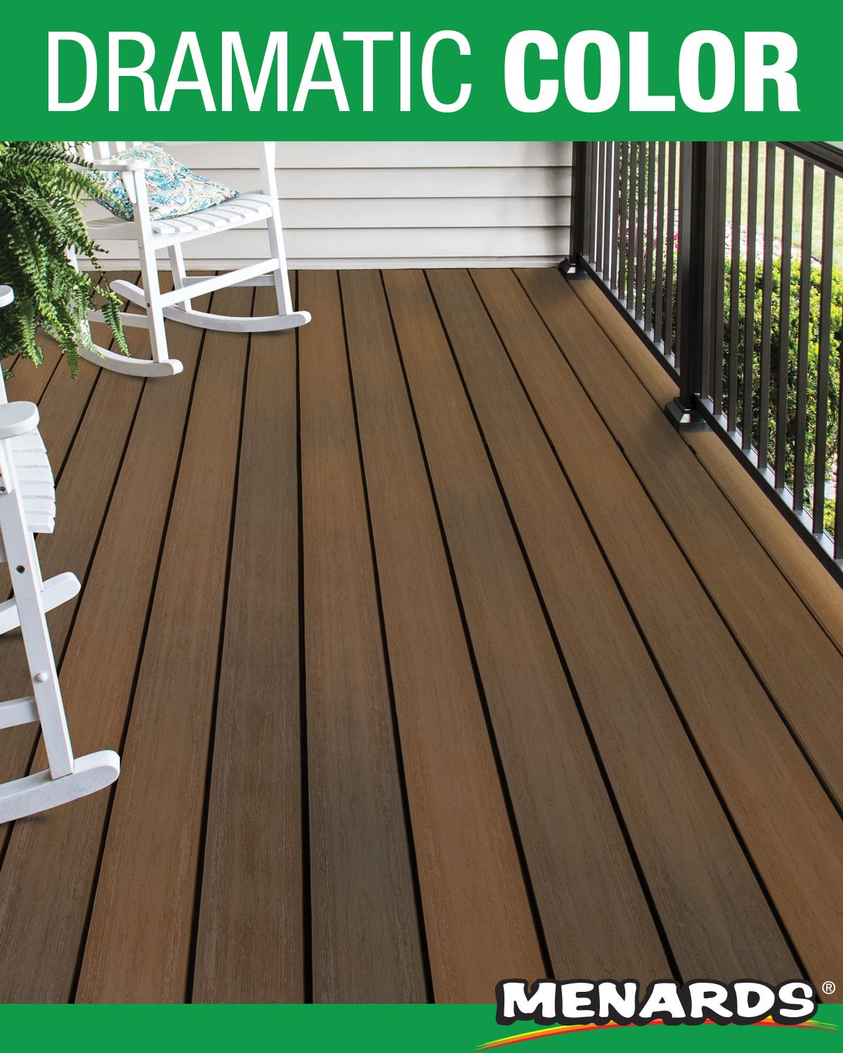 Make your outdoor oasis unique with UltraDeck® Inspire
