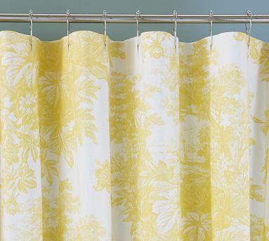Matine Toile Shower Curtain Potterybarn