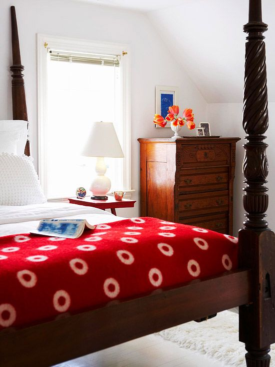 Bedroom Decorating In Pink And Red Bedroom Red Bedroom Colors Bedroom Color Schemes