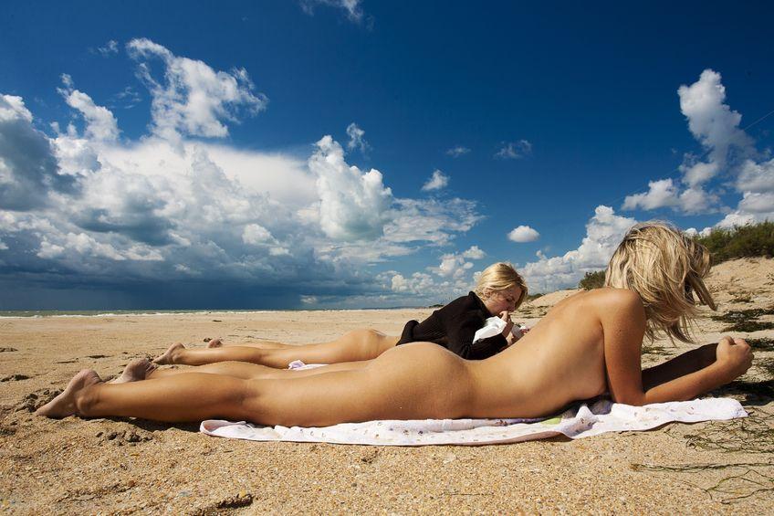 Denmark nude beach girls