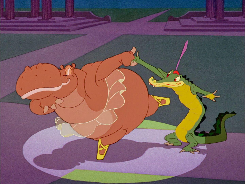 Fantasia (1940) Ben Ali Gator And Hyacinth Hippo
