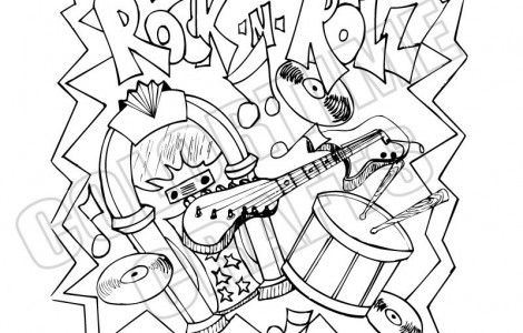 Rock And Roll Color Sheets Free Coloring Pages Coloring Sheets Free Coloring Pages Rock And Roll