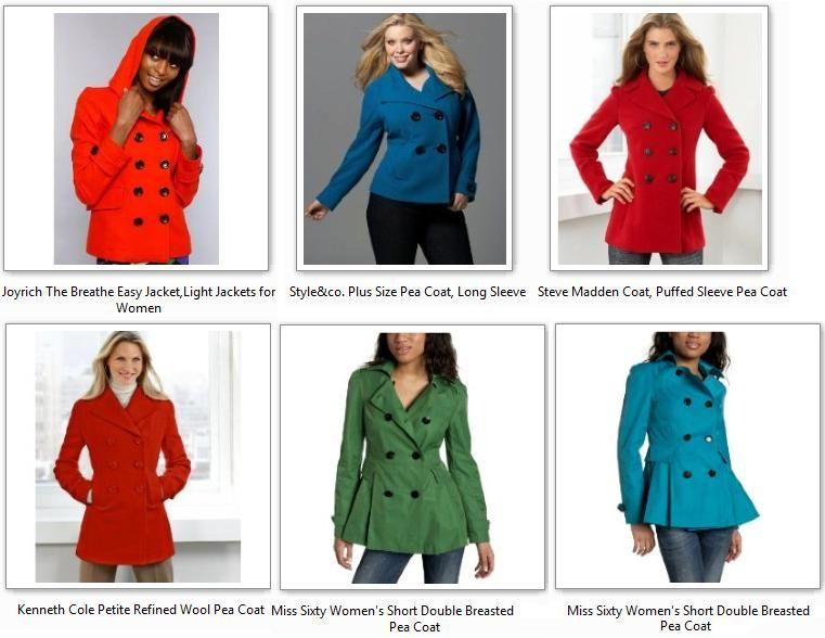 Colorful Pea Coats - Sm Coats
