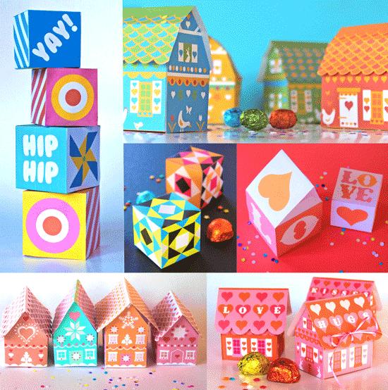 31 gift box printable templates gift box templates box 31 gift box printable templates negle Image collections