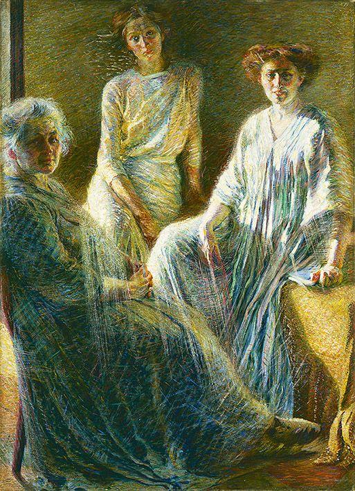 Umberto Boccioni | 1882-1916, Italy | Three women, 1909-10 | Collezione Intesa Sanpaolo, Milano
