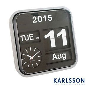 Karlsson+Big+Flip+Clock