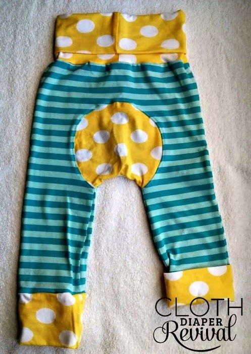 Cloth Diaper Revival: Pants that grow with your baby and fit over ...