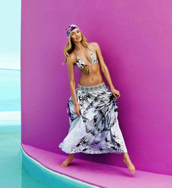Kendal Jenner VS Candice Swanepoel for Agua Bendita | Take a Quick Break