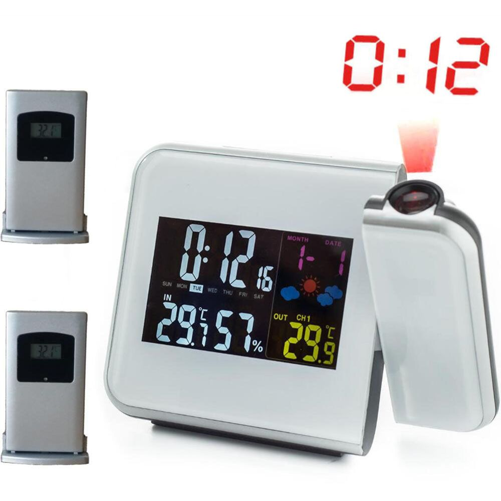 Projection Alarm Clock with Digital Laser Time