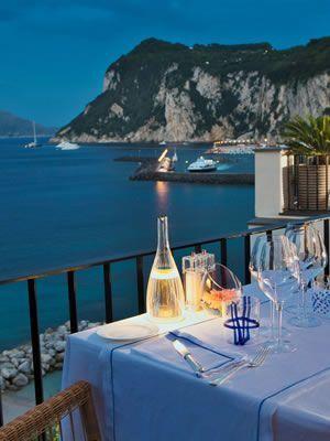 J K Place Capri Hotel Alfresco