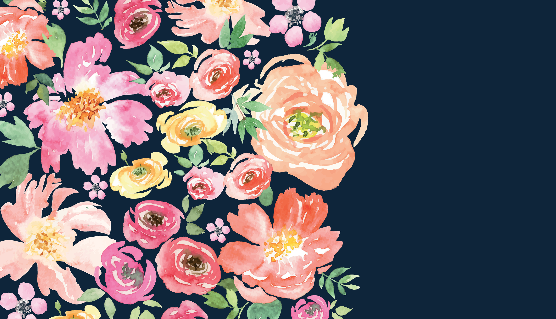 Free Downloads In 2020 Floral Wallpaper Desktop Computer Wallpaper Desktop Wallpapers Floral Wallpaper