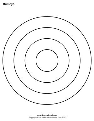 image regarding Printable Bullseye known as Bullseye Printable For the Young children Templates printable free of charge