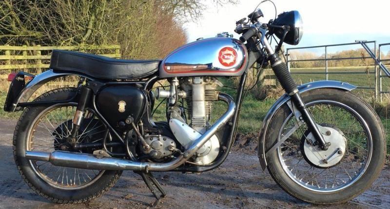 1955 Bsa 500cc Goldstar Rep Classic Cafe Racer V5c Great Runner Cafe Racer Racer Bsa Bantam