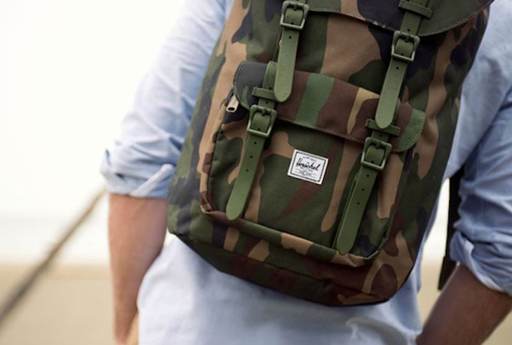 Little America Backpack   The Little America Backpack from Herschel Supply  Co. combines a large ea3e5ff2f8000