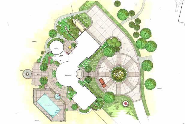 landscape design plans Incredible Landscape Design Plans 12 Landscape Drawings, Y Landscape ...