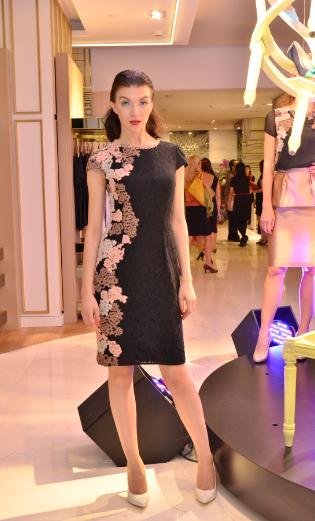 Batik Dress by. Galery Lafayette