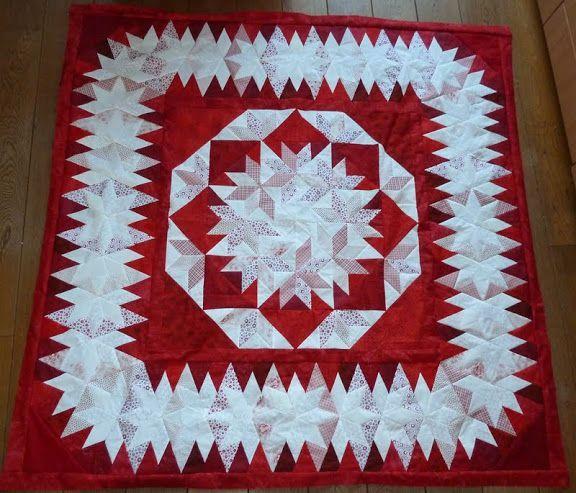 Capistrano made by Helma De Jong. Pattern by Judy Martin in her book, Stellar Quilts.  » Helma's weblog