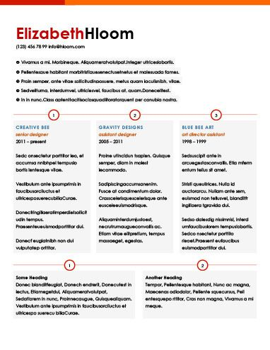 Combination Resume by Hloom Curriculos Pinterest Bullet - assistant designer resume