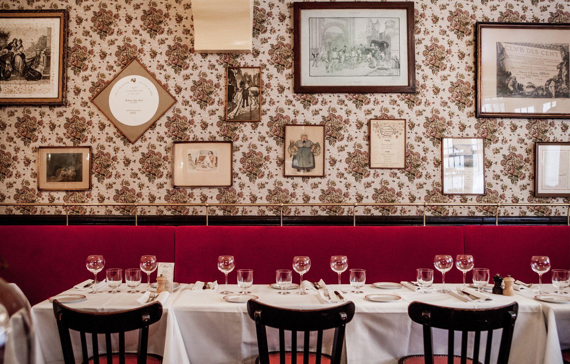 Allard Restaurant Paris St Germain Des Pres Bistro By Alain Ducasse Paris Restaurants Romantic Restaurant Best Restaurants In Paris