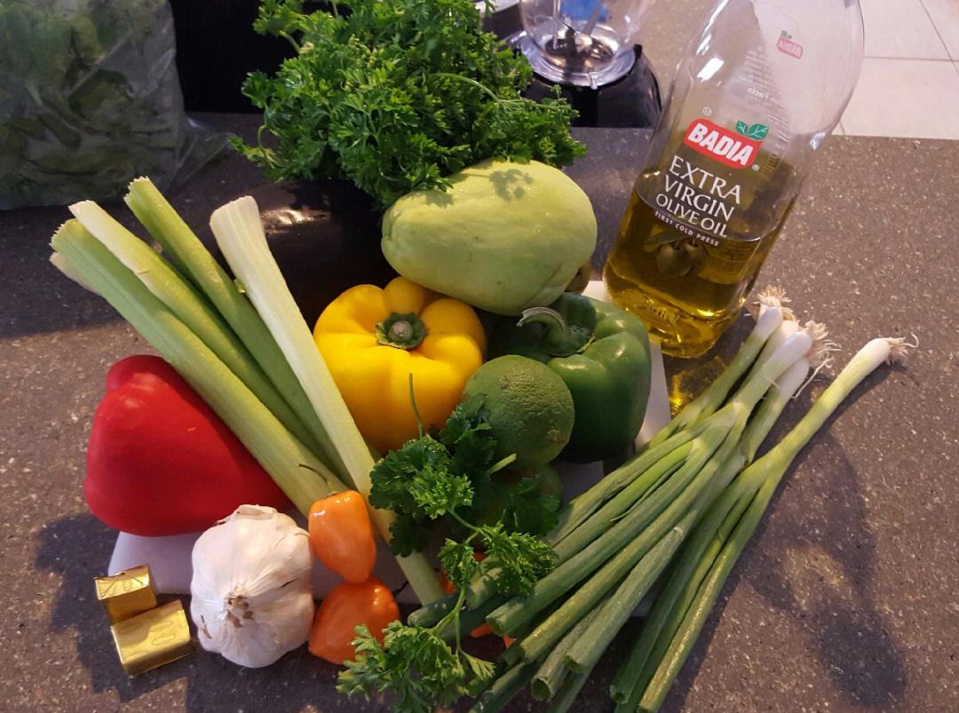 Haitian Epis Haitian Spice Marinade Haitian Food Recipes Caribbean Recipes Haitian Epis Recipe