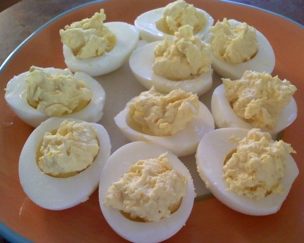 Eggs are a staple for low carb diets. Deviled eggs are a favorite appetizer among those avoiding unnecessary carbs. This is a recipe for basic deviled eggs.