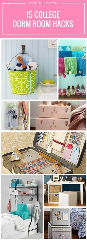 15 Amazing College Dorm Room Storage Hacks That Anyone Will Appreciate images